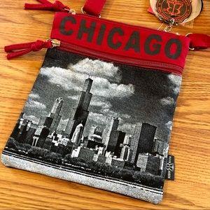 "Robin Ruth Bags - Robin Ruth Canvas ""CHICAGO"" Crossbody Bag"